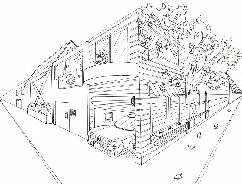 2c 卢伟森「透视绘图设计」